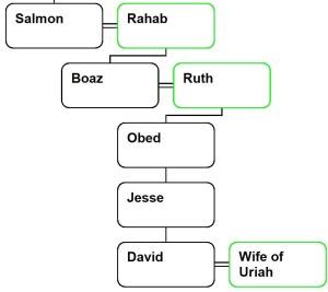 Salmon extended family