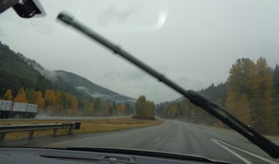 Road 03 - Western MT Rain