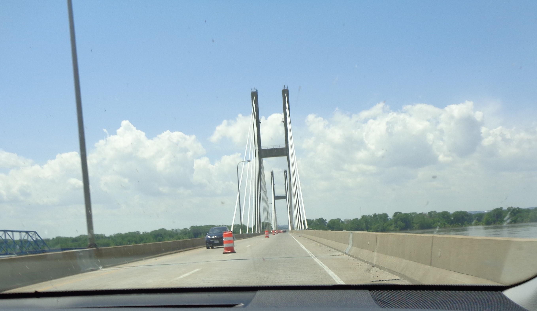 Road 15 - Quincy Bridge over Mississippi