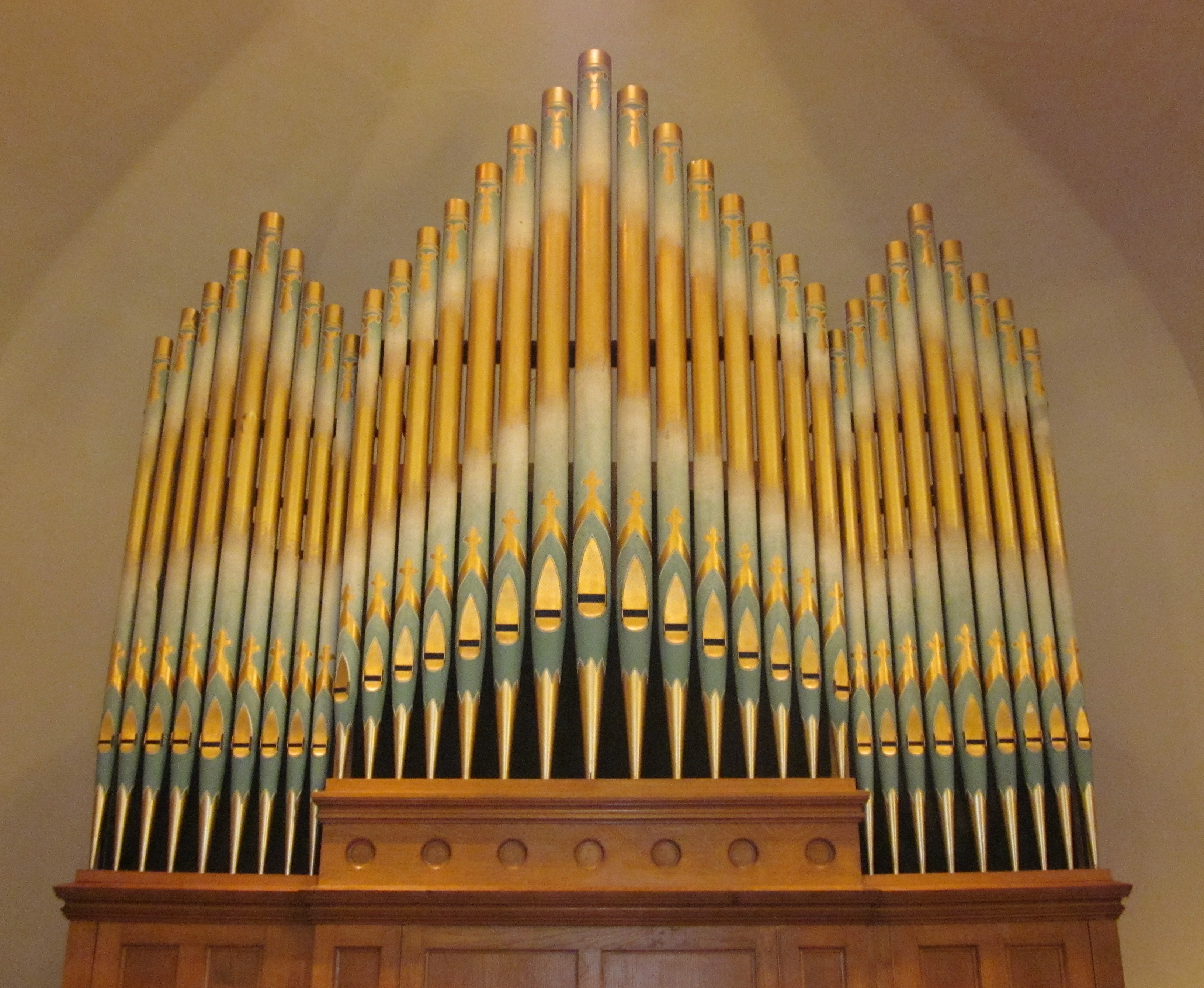 Pipe Organ - First Congregational UCC - Hampton Iowa